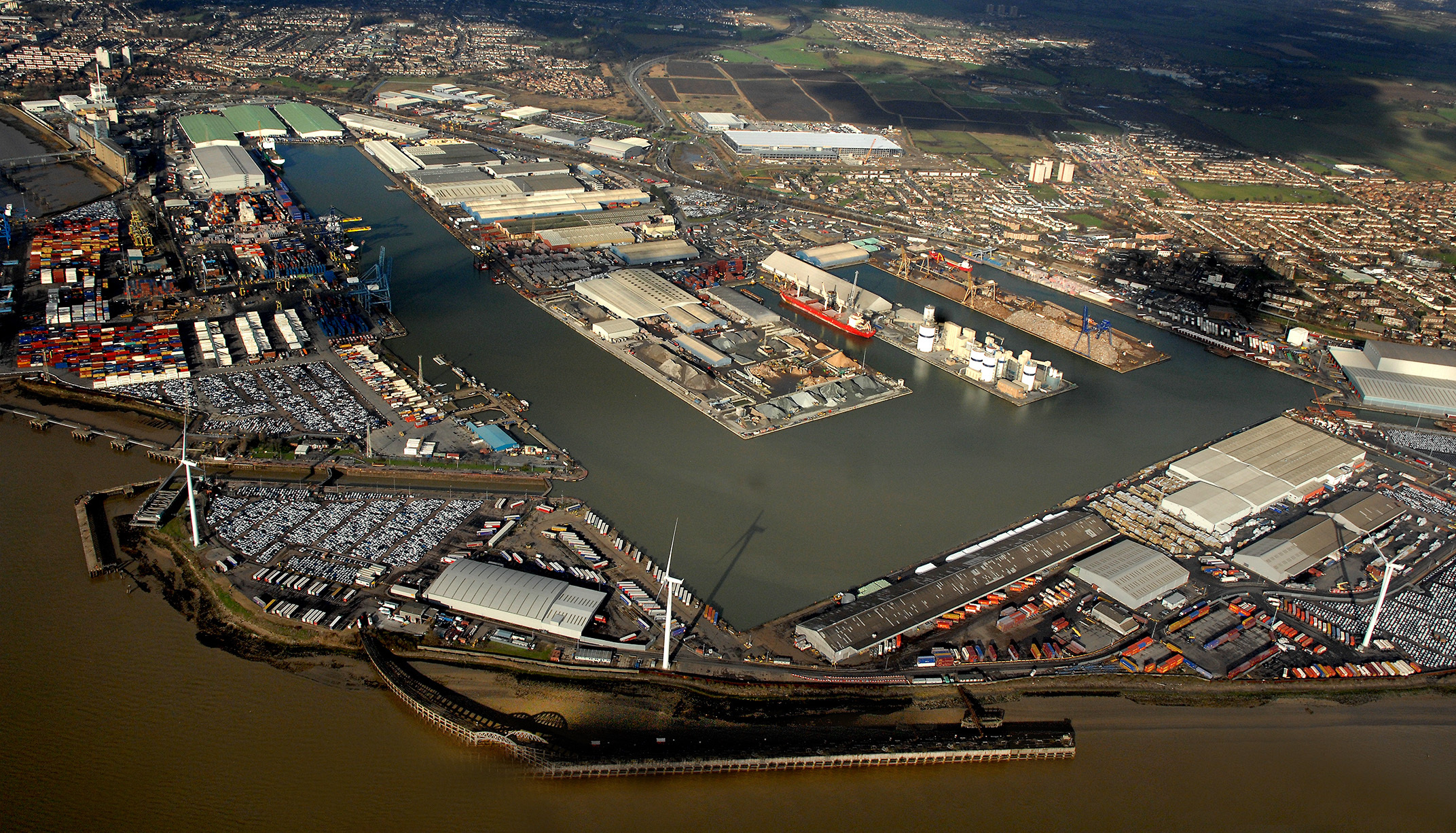 GRAHAM appointed to deliver new London port - Tilbury2 image