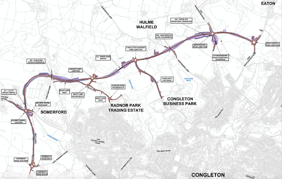 GRAHAM awarded Congleton Link Road project image
