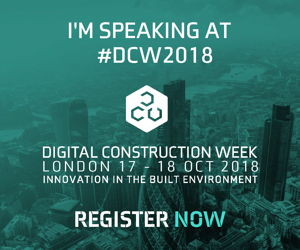 Showcasing our 'digital by default' approach at Digital Construction Week image