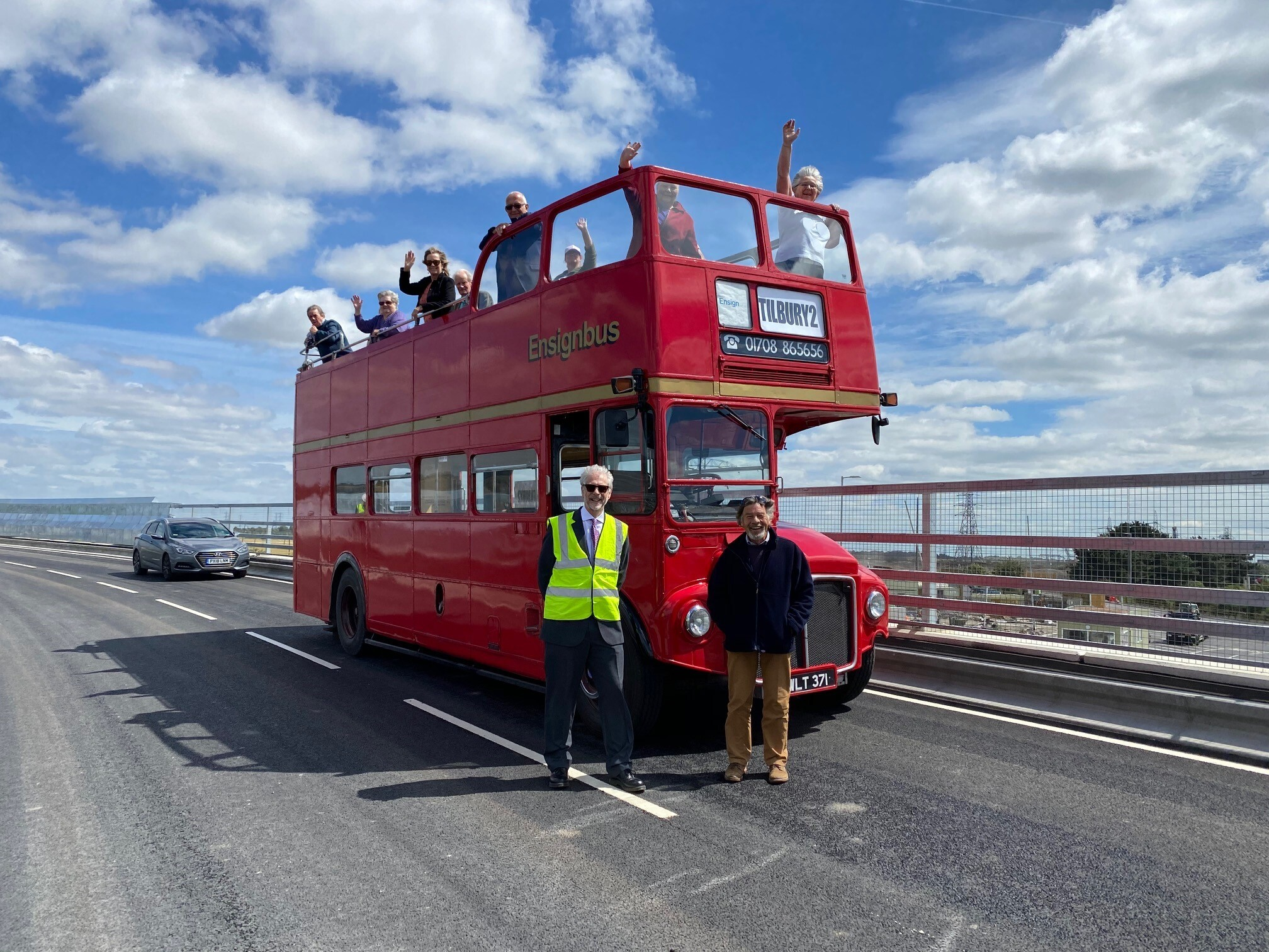 Fort Road reopens following completion of new bridge image