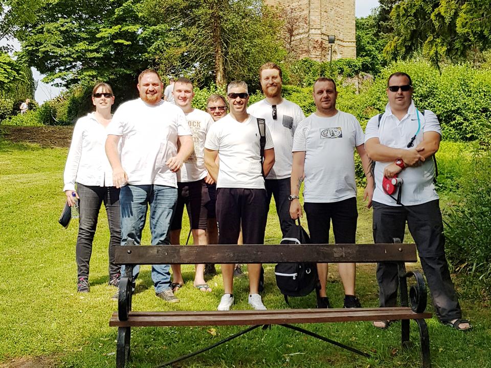 UWE team 'walk the walk' for charity image