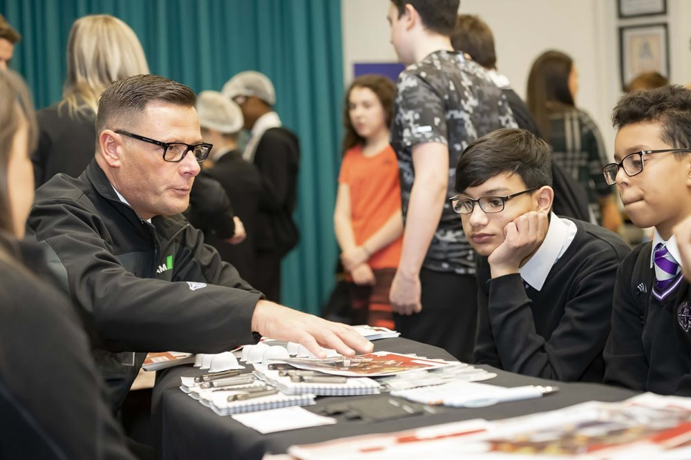 Promoting STEM careers to Glasgow young people image