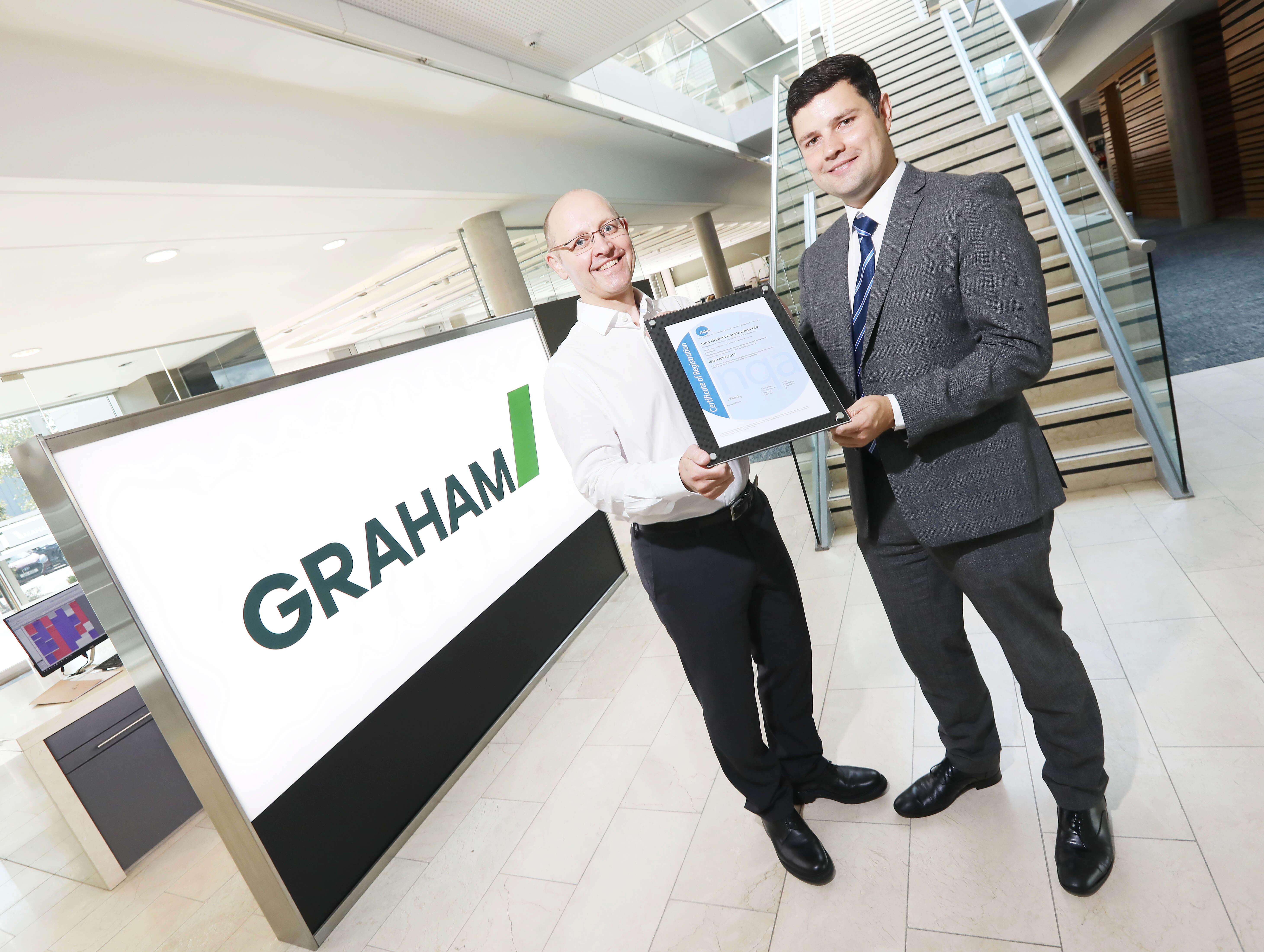 GRAHAM secures prestigious international ISO 44001 certification image