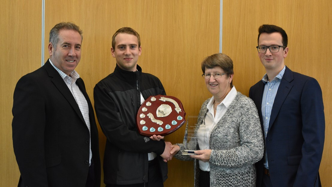Outstanding student presented with Harry McMullen Award image