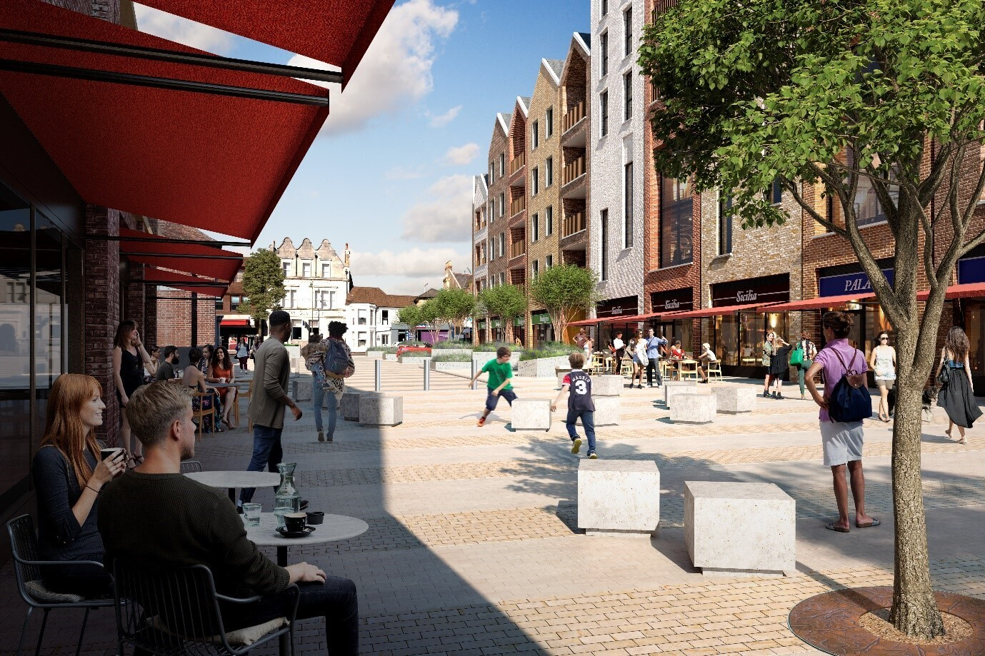 £60M Egham Gateway contract image