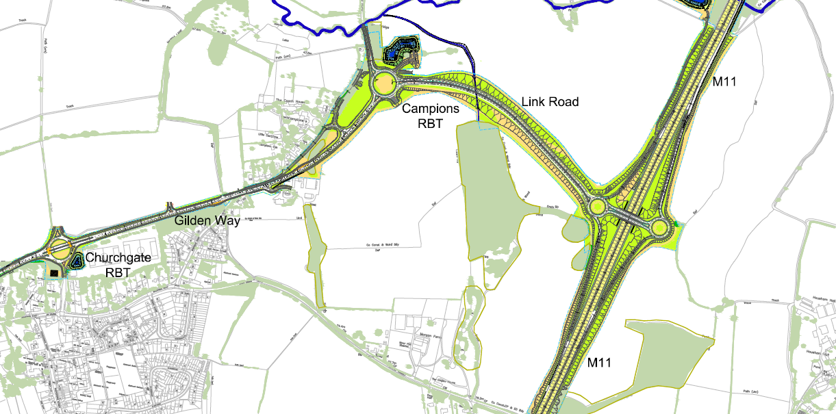 Appointment to work on vital new Harlow junction image