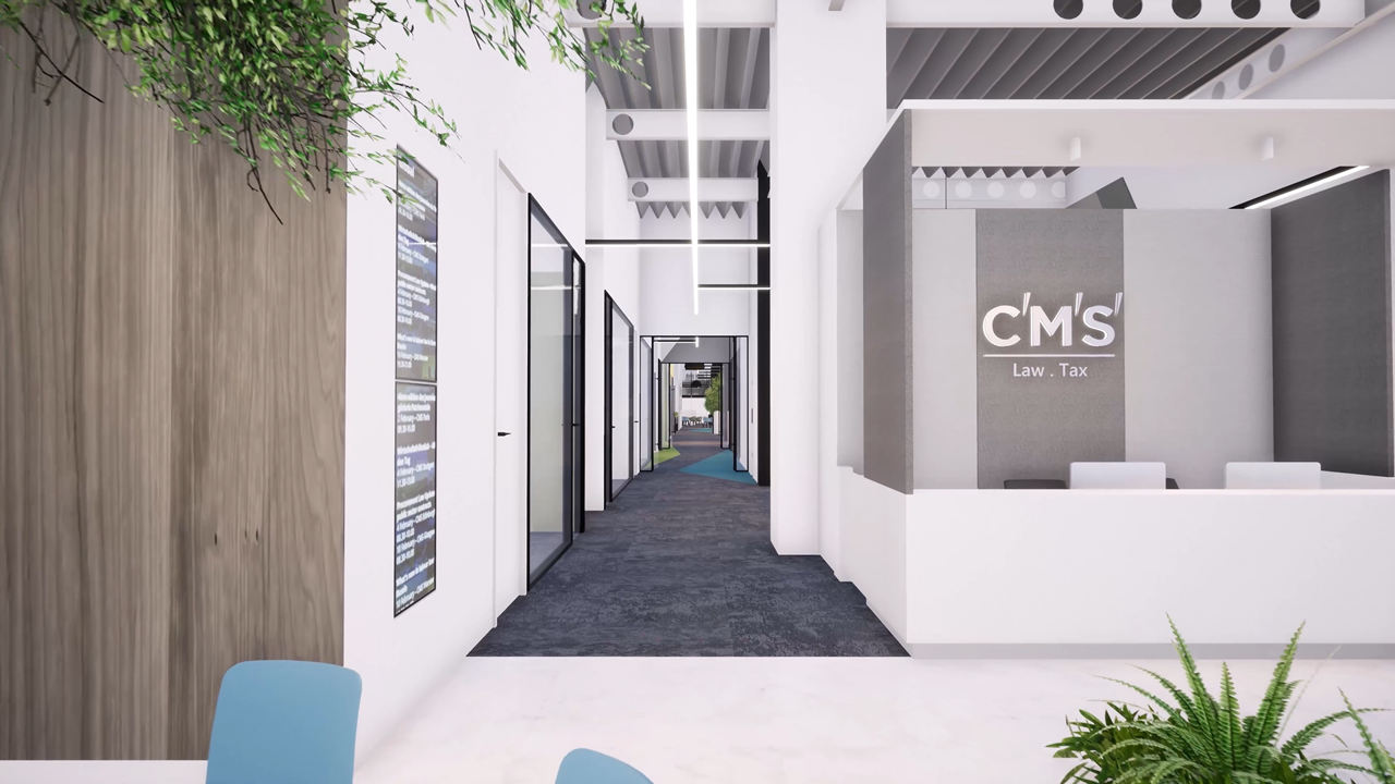 £3.5m fit-out contract awarded by international law firm CMS image