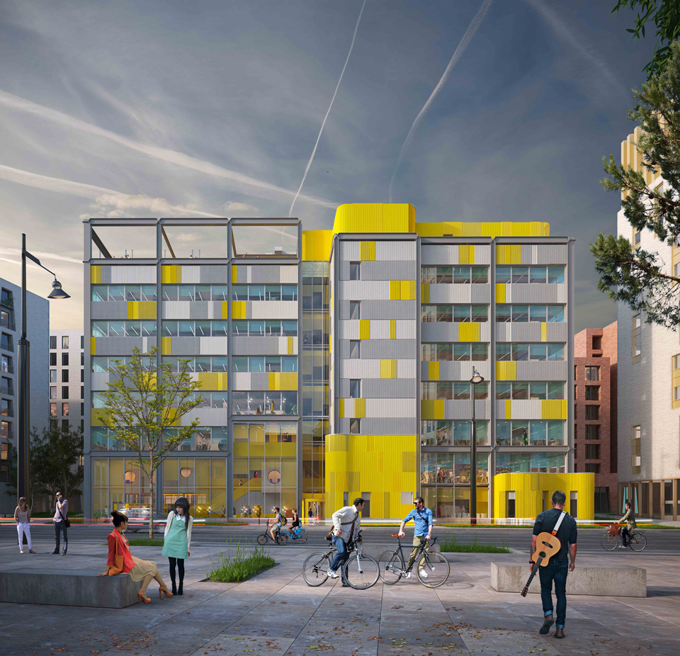 We're delivering the new commercial hub for U+I in Brighton image