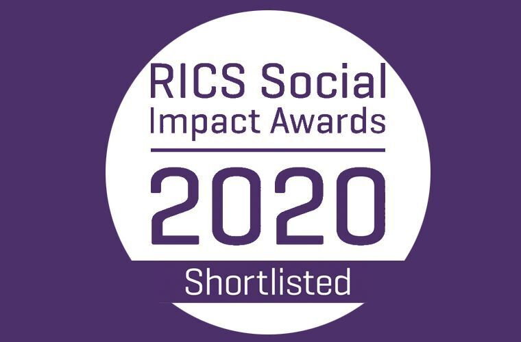 Five projects shortlisted at RICS Social Impact awards image