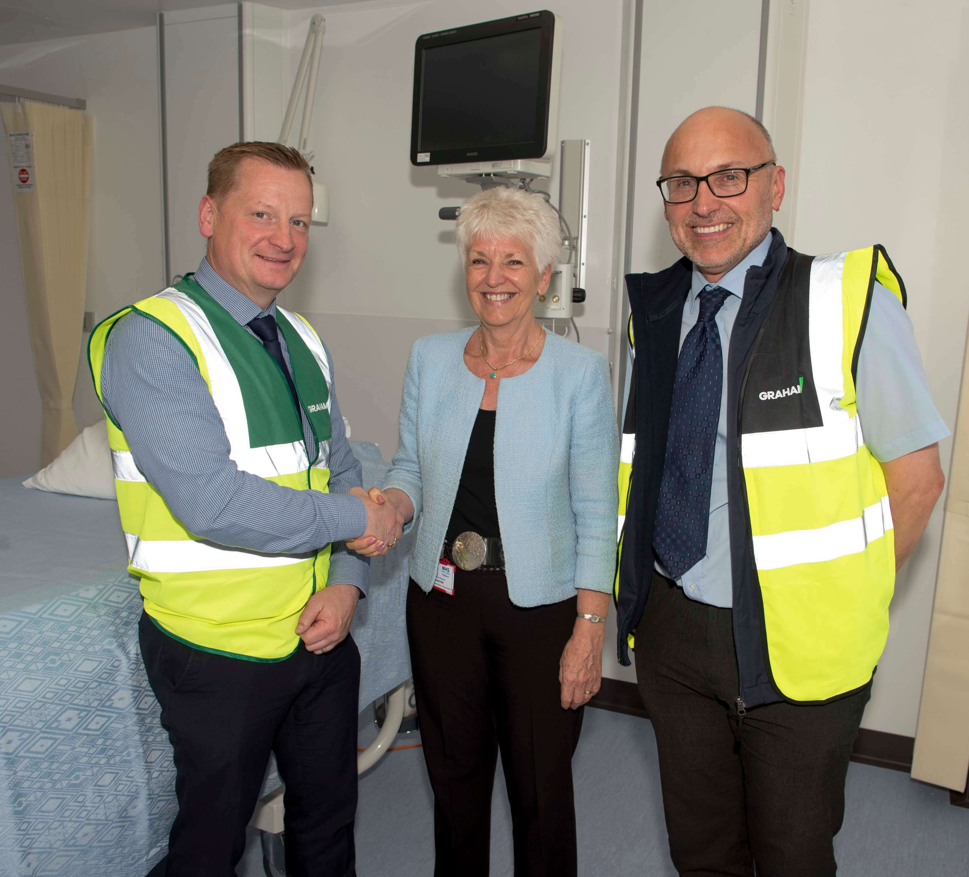 Phase one of Raigmore Hospital handed over image