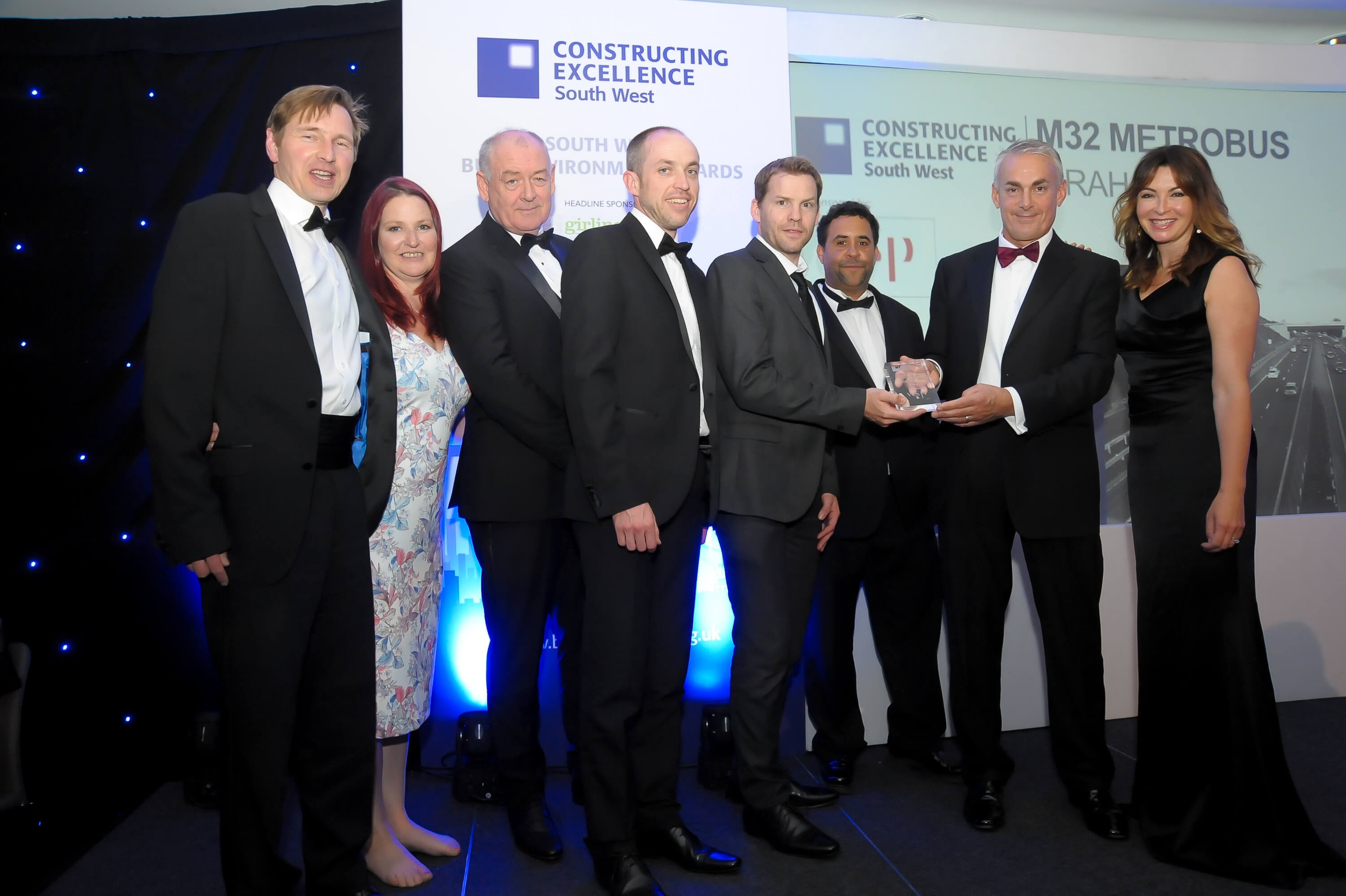 M32 MetroBus project picks up SWBE Sustainability award image