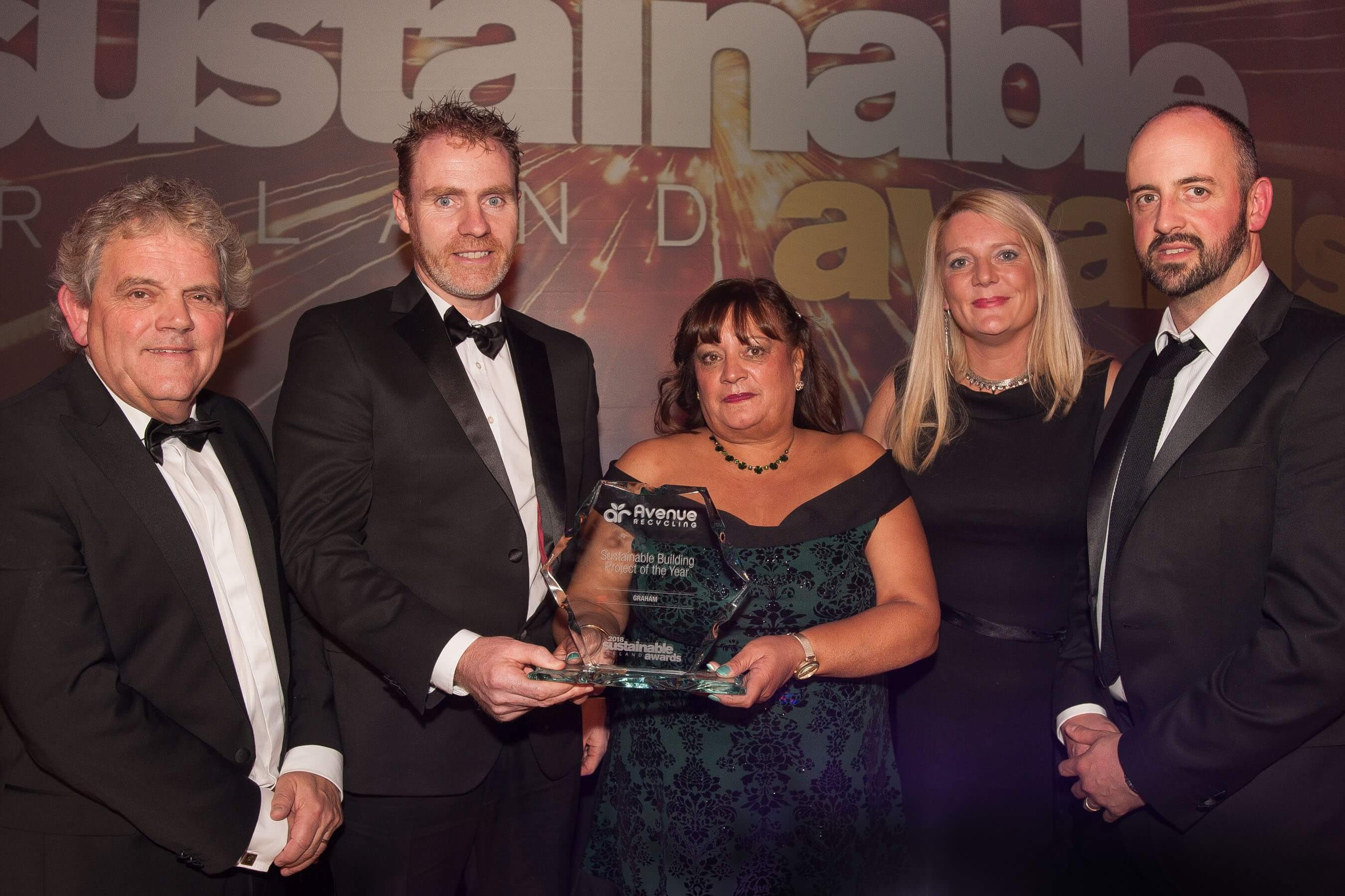 'Sustainable Building Project of the Year' success for GRAHAM image