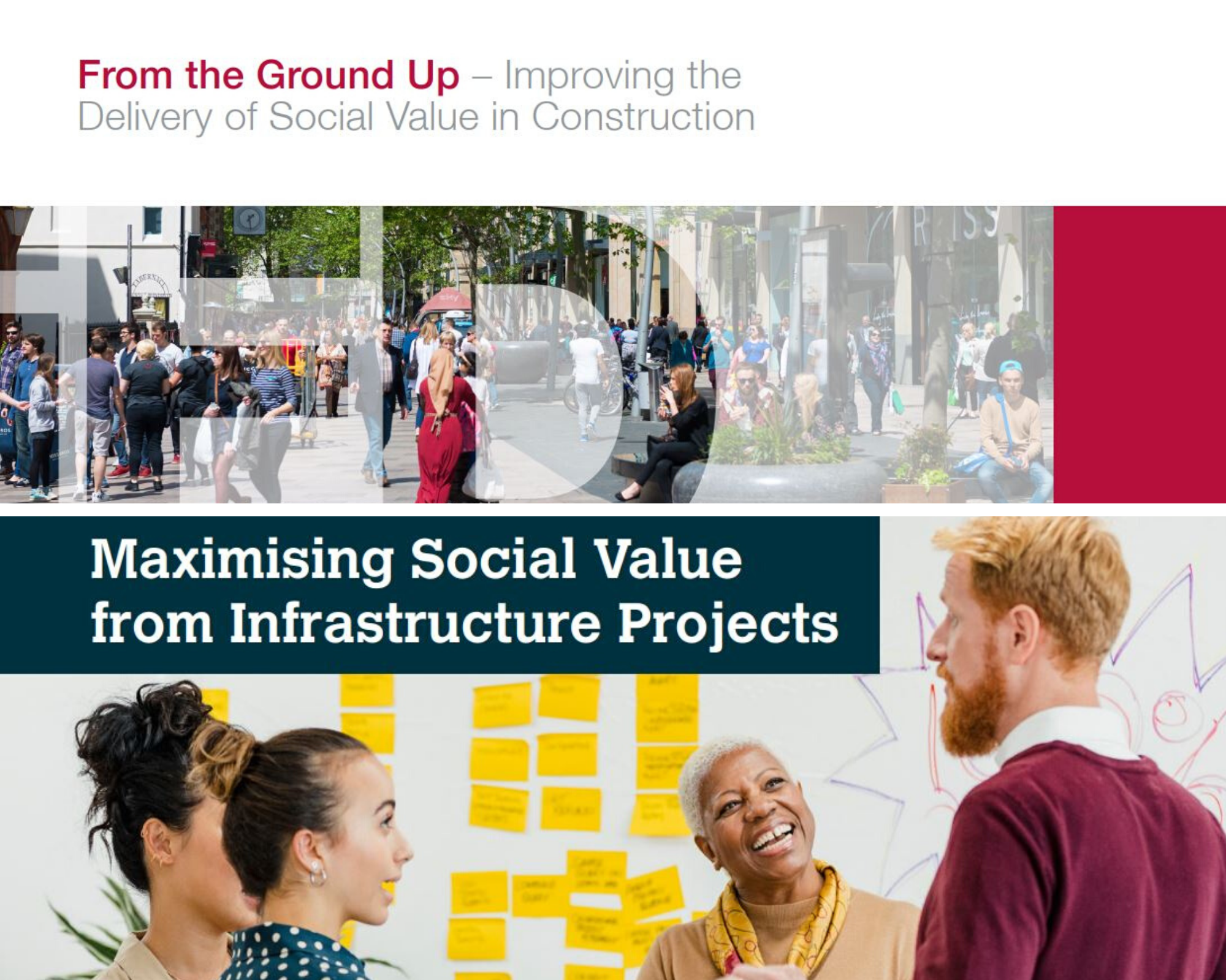 Two reports launched on Social Value provision image