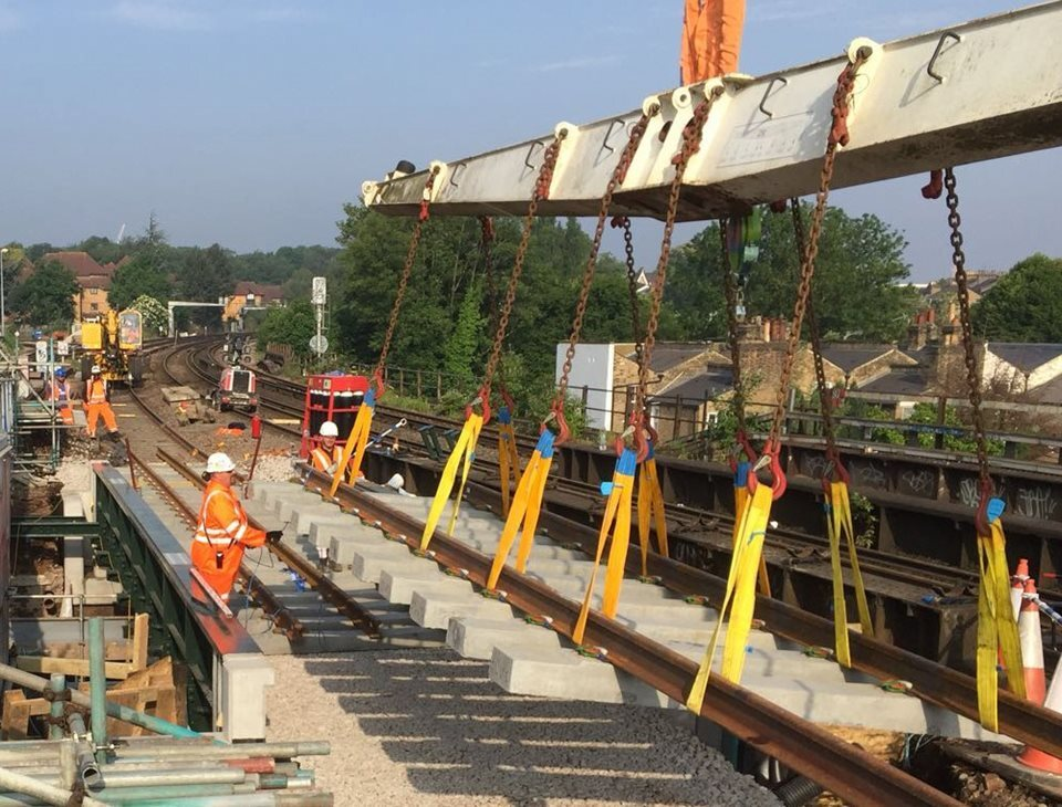 GRAHAM completes crucial South East London rail network upgrades image