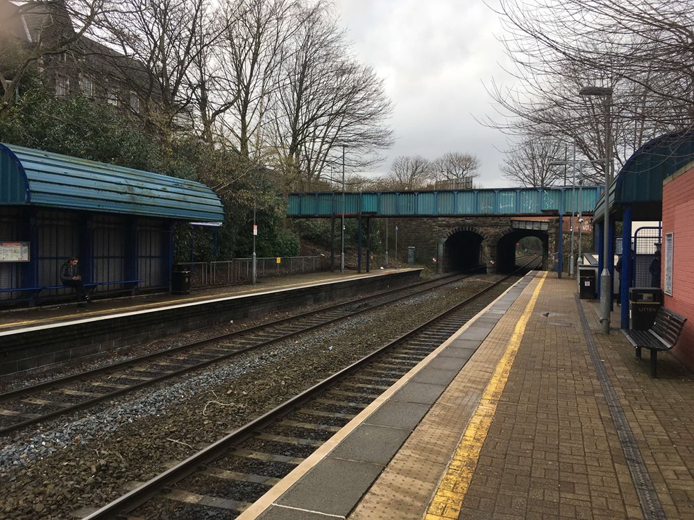GRAHAM begins work on replacement footbridge at City Hospital Halt image
