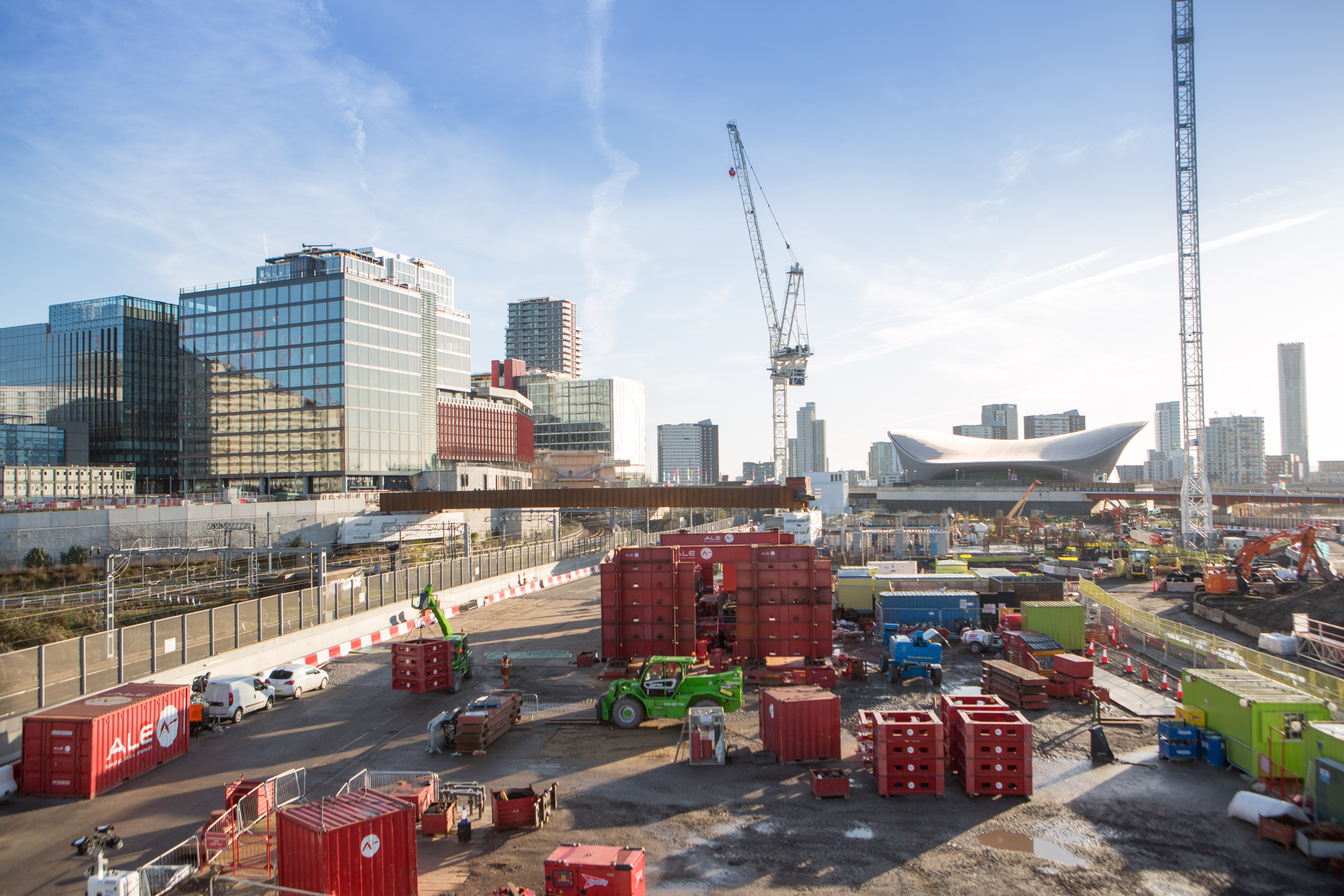 Vital East Bank connection work shortlisted for prestigious awards image